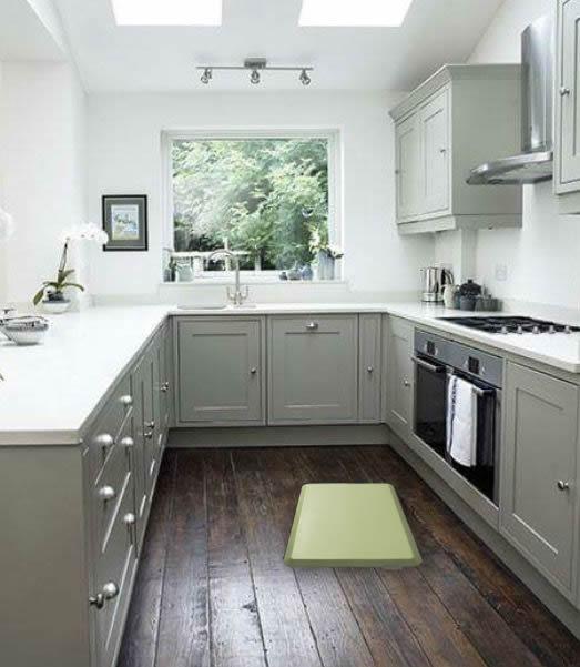 L Shaped Kitchen Floor Mats